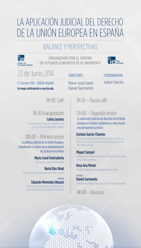 La aplicación judicial del Derecho de la Unión Europea en España